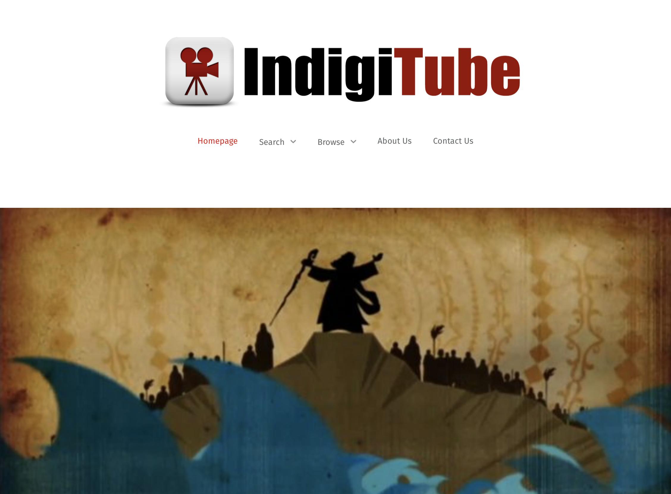 Weblink to IndigiTube Website